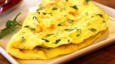Spinazie tortilla
