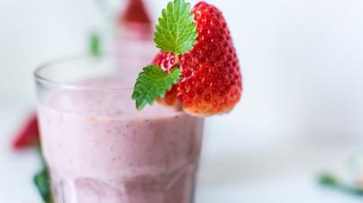 Erdbeer- und Melonen-Smoothie