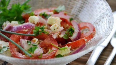 Oosterse tomatensalade