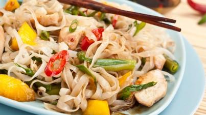 Salade de nouilles vietnamiennes