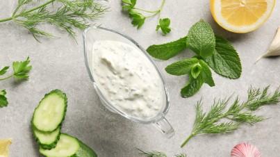 Irresistible Middle Eastern yoghurt sauce