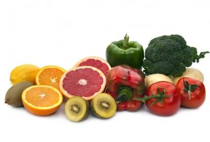 Frutas y verduras contra el resfriado, ricas en vitamina C