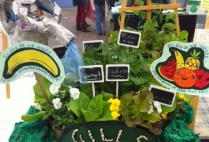 Yorkshire students discover the origins of food at Harrogate flower show