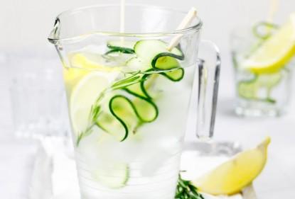 Stay hydrated, eet (en drink) groente en fruit