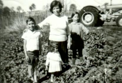 Frances Tolson grew up on her family's vegetable farm