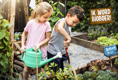 Ik word bio boer, leerzame campagne voor kids