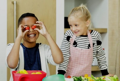 Simpele truc om kids meer groente te laten eten