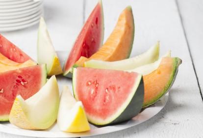 Hoe kies je een meloen in de supermarkt?