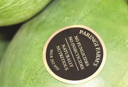 Organic watermelon, grown by Paringi Farms, Love My Salad