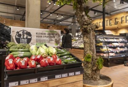 Kleinere groente tegen voedselverspilling