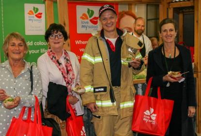 salading masterclass lorne, lorne fire brigade, HFF conference