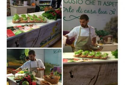 """Love my Salad delizia il pubblico di """"Gastronomica"""" di Latina insieme a San Lidano"""