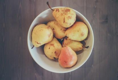 Red je groente en fruit van de afvalbak