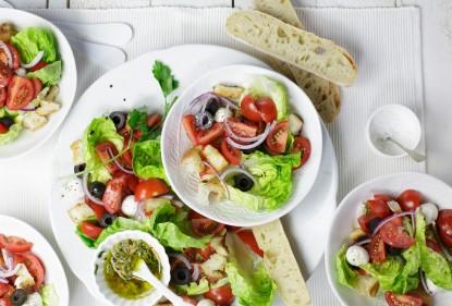 geef een upgrade aan je kant en klaar salade