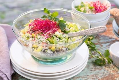 Make your own vegetable rice