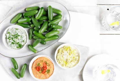Komkommertijd! Verrassende komkommerrecepten