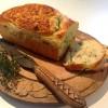 Pan de verduras y hierbas para fiambrera