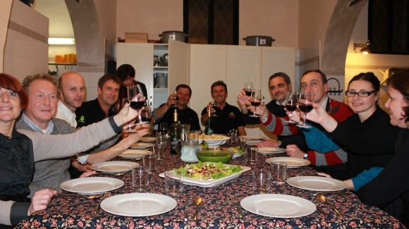 First salad workshop shares the fun in Bologna, Italy