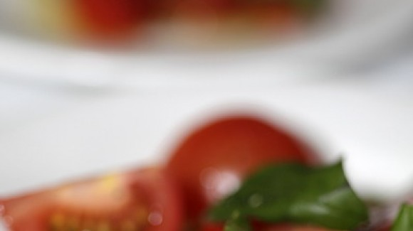 Salat ist die Hauptattraktion des Tages