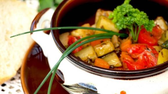 Topinambur-Gemüsepfanne