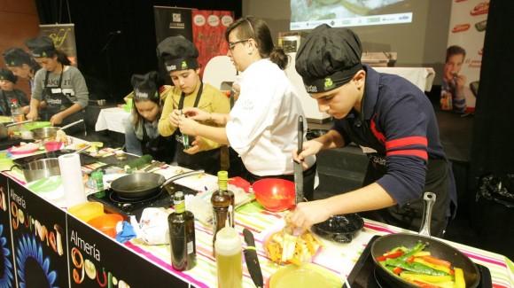 Love my Salad patrocina el 2º concurso Mini Chef en Almería Gourmet