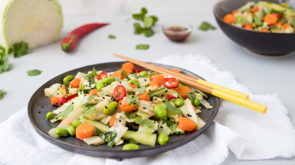 Food Talk - Witte kool + recept voor aziatische koolsalade