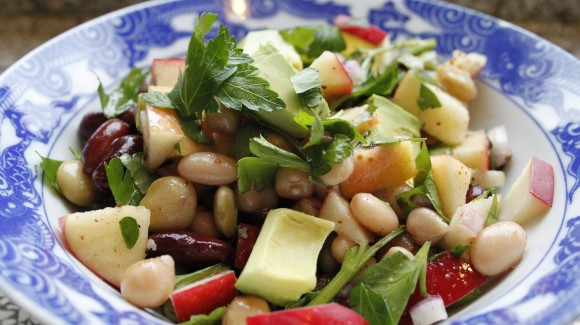 Mexican bean salad (aka blackout salad)