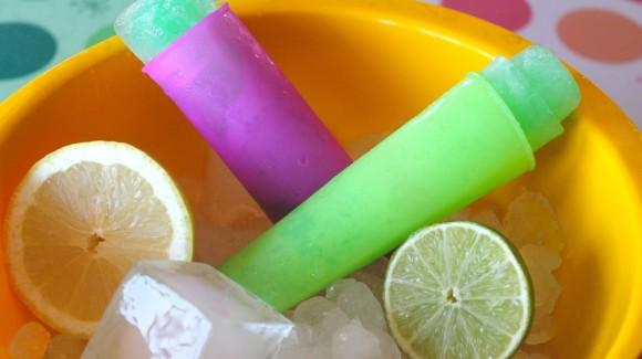 Polos de lima limón