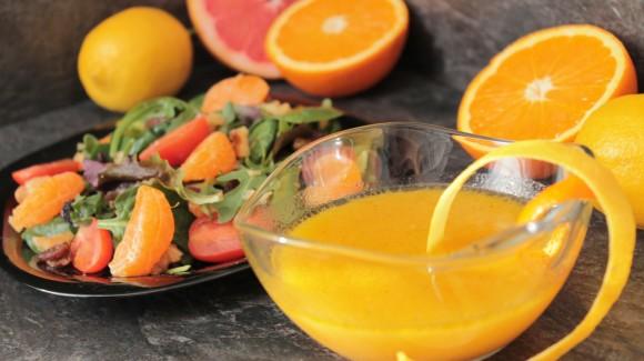 Een heerlijke citrus dressing uit Spanje