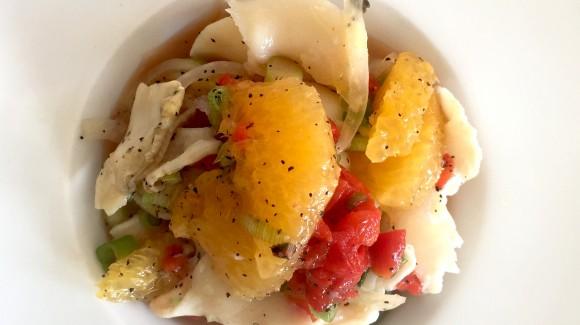 Conch ceviche salad