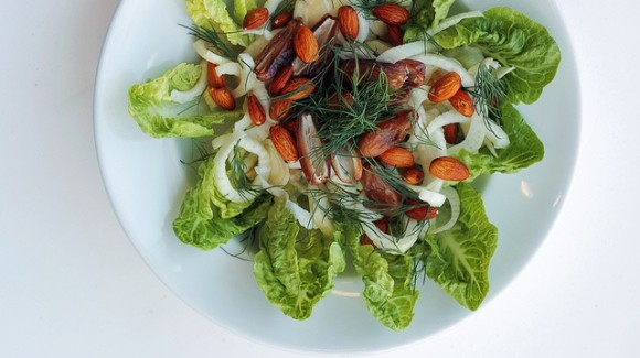 Dates, Fennel and Lettuce Salad
