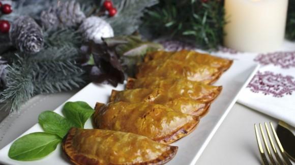 Empanadillas de calabacín y pimientos del piquillo