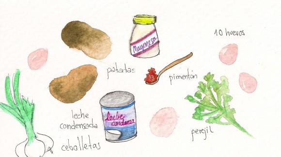 Ensalada sudafricana de patatas con pimentón
