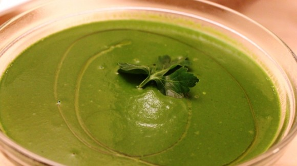 Unforgettable spinach soup