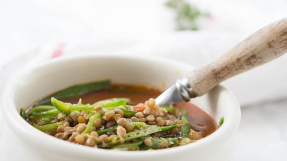 Fake Soupa (Lentejas tradicionales griegas)