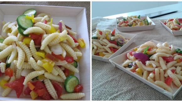 Gnocchetti sardi con verdure croccanti