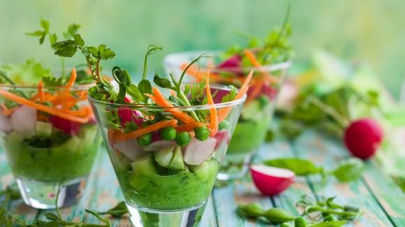 Green goddess veggie dips