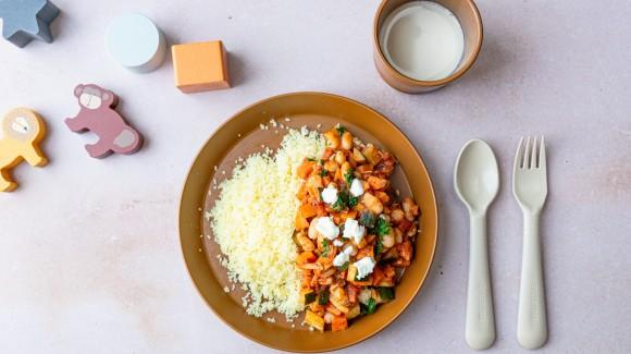 Couscous met groentestoof (12 maanden)