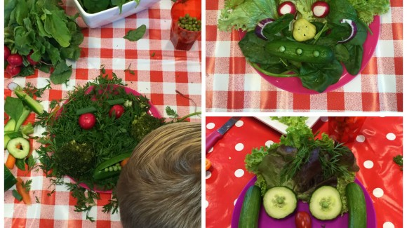 Mangia, crea e divertiti tutti i giorni. E diventa anche tu un fan delle insalate!