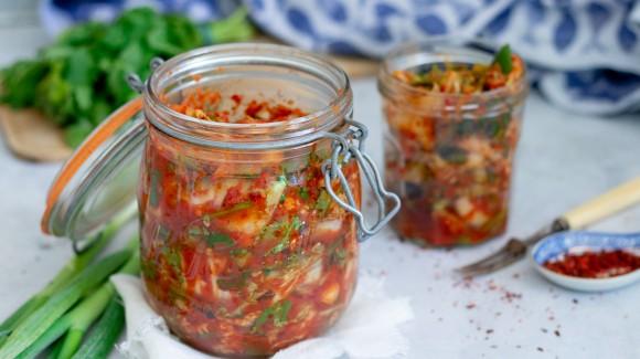 Selbstgemachtes Kimchi