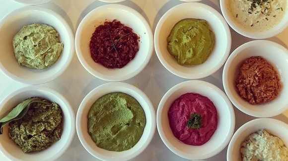Easy dips at home - spread the word