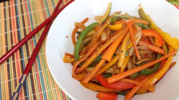 Método de cocinado de verduras: salteadas