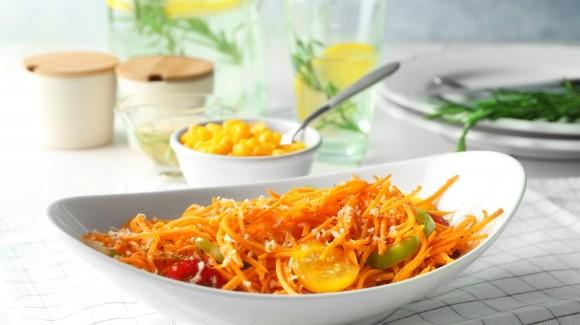 Indiase wortelsalade