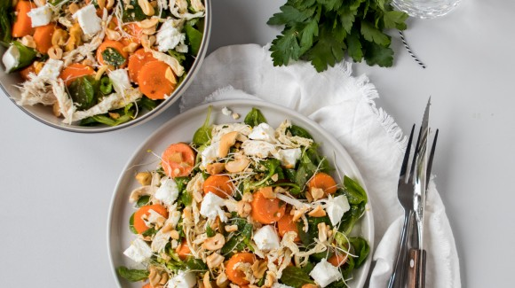 Food Talk - Winterpeen + recept lauwwarme salade met winterpeen & kip