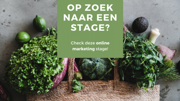 Wij zoeken een online marketing stagiair!