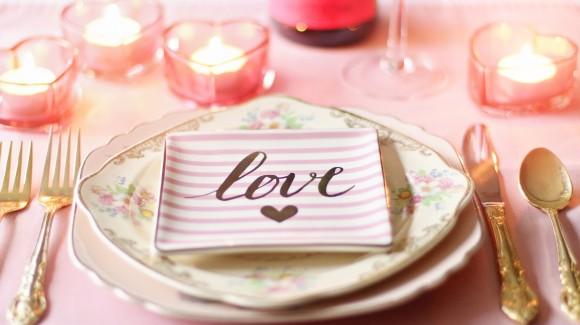 Verras je valentijn met groente. Een compleet menu!