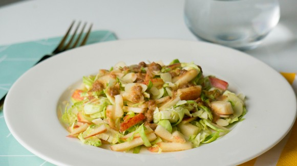 Spruitjes amandel salade