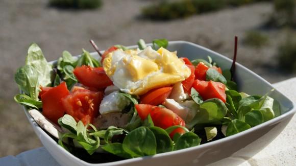 Salade du jardin méditerranéenne