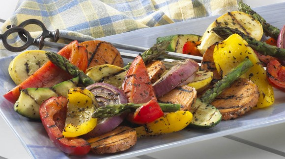 Marinated Vegetables BBQ