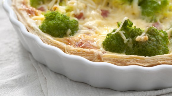 Quiche van romanesco
